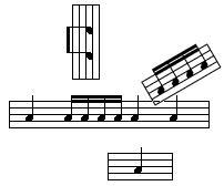 Actividades de ritmo (clic.xtec.cat)