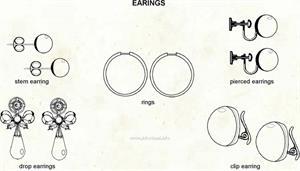 Earrings  (Visual Dictionary)