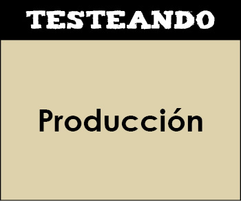 Producción. 2º Bachillerato - Economía de la empresa (Testeando)