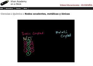Redes covalentes, metálicas y iónicas (Khan Academy Español)