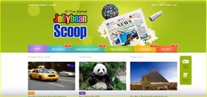 Jellybean Scoop, herramienta online de apoyo a la lectura