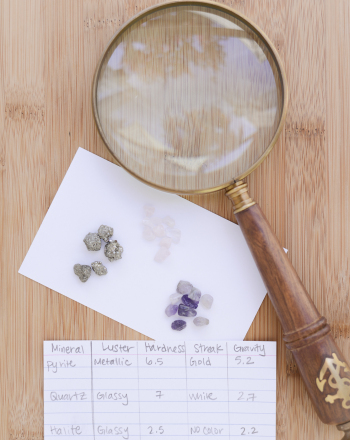 Identifying Rocks and Minerals for Kids