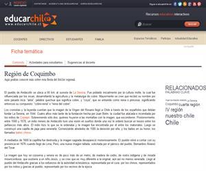4ta Región Virgen de Andacollo (Educarchile)