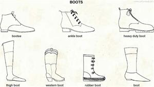 Boots  (Visual Dictionary)