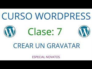 Wordpress Novatos | Clase 7 | Crear Un Gravatar
