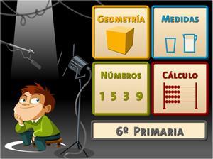 Juegos, números... ¡Acción! (6º de Primaria)