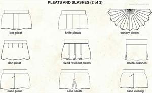 Pleat and slashe 2  (Visual Dictionary)
