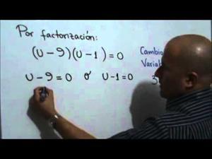 Ecuación exponencial con cambio de variable (JulioProfe)