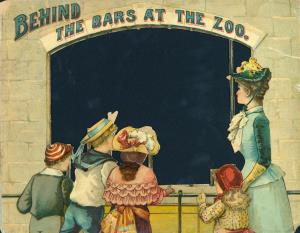 Behind the bars at the zoo (International Children's Digital Library)