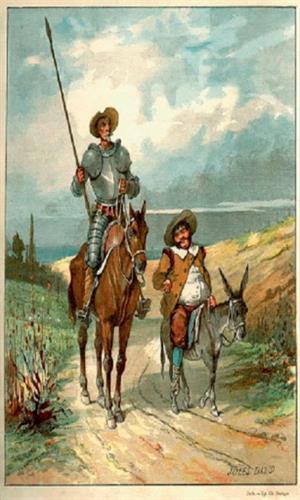 Adaptación literaria del Quijote para estudiantes de ELE