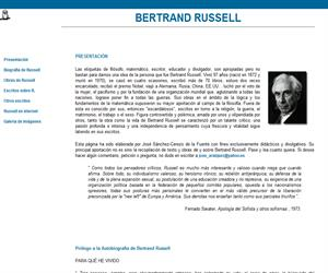 Quién era Bertrand Russell