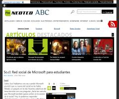 So.cl: Red social de Microsoft para estudiantes (NeoTeo)