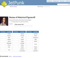 Names of Historical Figures 2