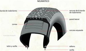 Neumático (Diccionario visual)