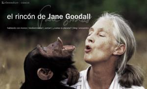"""""""El Rincón de Jane Goodall"""", un espacio sobre la conservación"""