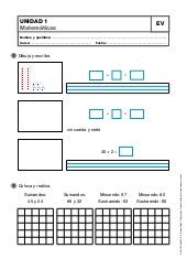 Matemáticas para 2º de primaria