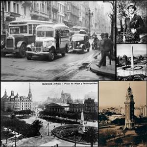 Buenos Aires desde setenta años atrás