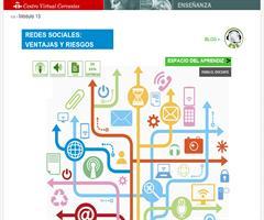 Redes sociales: ventajas y riesgos. En sintonía con el español (Centro Virtual Cervantes)