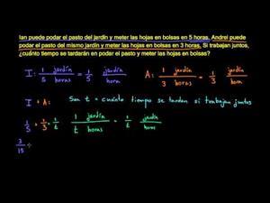 Cómo aplicar ecuaciones racionales 1 (Khan Academy Español)