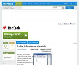 RedCrab, 'el editor de fórmulas que sabe calcular'