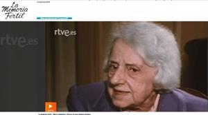 La memoria fértil - María Zambrano. Éxtasis de una palabra perdida (RTVE)