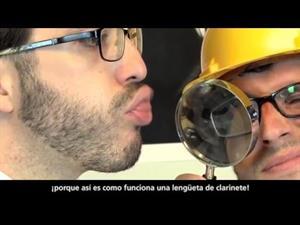 El experimento de la lengüeta. ¿Cómo se produce el sonido?