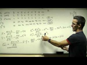 Distribucion bidimensional. Recta de regresion correlacion
