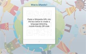 QRPedia, Wikipedia en dispositivos móviles vía códigos QR