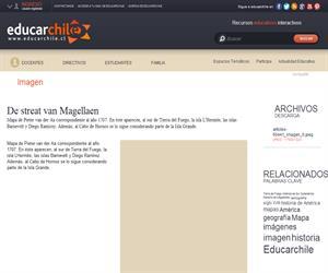 De streat van Magellaen (Educarchile)