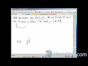 Problemas de ecuaciones de primer grado (En directo)