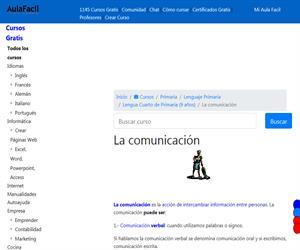 La comunicación (AulaFacil)