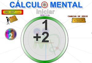 Cálculo mental - Sumas de una cifra