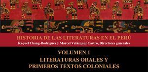 Literaturas orales y primero textos coloniales, tomo 1 (PerúEduca)