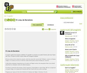 El Liceu de Barcelona (Edu3.cat)