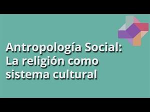 La religión como sistema cultural