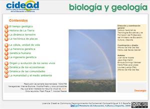 Biología y Geología para de 4º de Secundaria