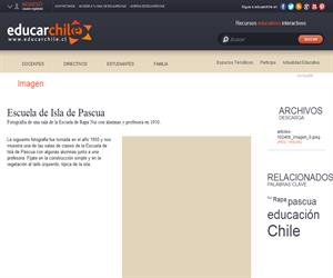 Escuela de Isla de Pascua (Educarchile)