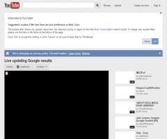 Live updating Google results en You tube. Google prueba las búsquedas automáticas por letra