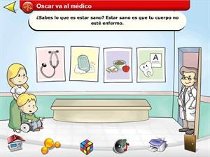 Óscar va al médico.  Un recurso educativo sobre la salud