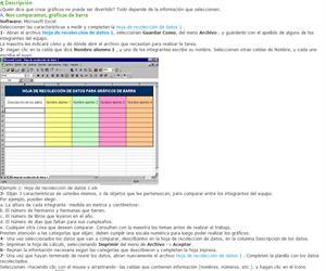 Graficar con Excel puede ser divertido. Actividades para el alumno
