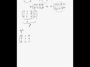 posición relativa de recta plano y distancia entre puntos