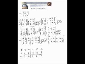Inversa de una matriz (Continuación)