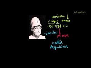 Guerra del Peloponeso. Primera Etapa: 431-421 a.c