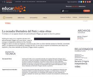 La escuadra libertadora del Perú y otras obras (Educarchile)