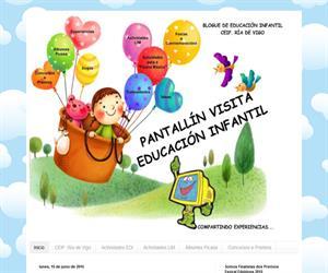 Pantallín visita Educación Infantil (Blog Educativo de Educación Infantil)