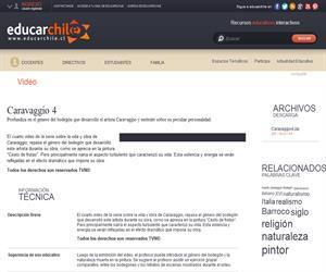 Caravaggio 4 (Educarchile)