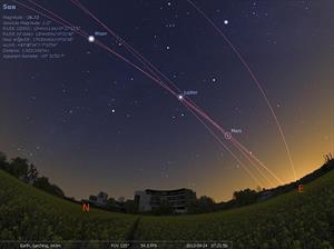 Stellarium, un planetario en tu ordenador