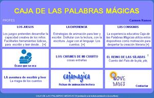 cajamagica.net: aprende a leer y a jugar con las palabras