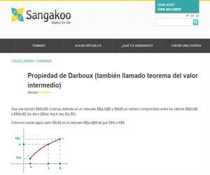 Propiedad de Darboux (también llamado teorema del valor intermedio)
