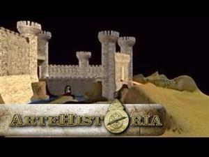 El castillo medieval (Artehistoria)
